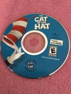 DR SEUSS CAT IN HAT COMPUTER GAME