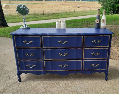 Vintage Dixie French provisional dresser