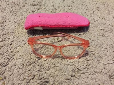 American Girl Doll glasses and glasses case