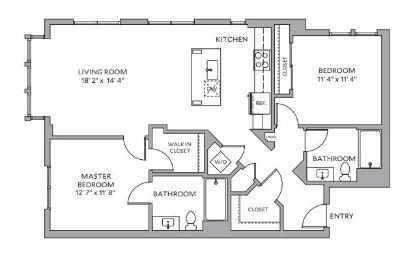 $9060 2 apartment in San Carlos