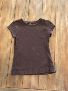 Brown shirt size 6 *free with $3 purchase