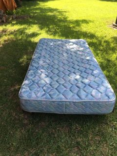 Twin Mattress and Frame