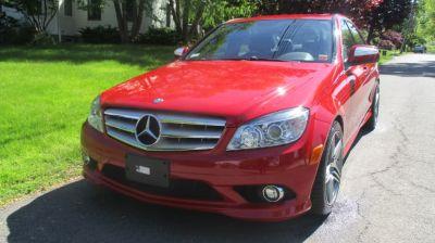 2008 Mercedes-Benz C300 LUXURY SPORT (Red)