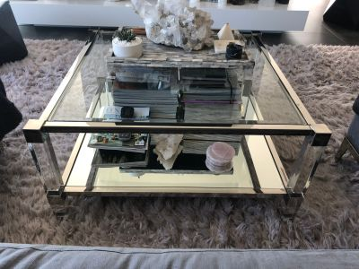 Glass Coffee Table from All Modern