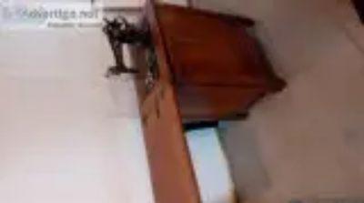 Antique treadle machine