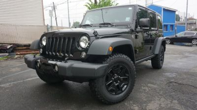 2015 Jeep Wrangler Unlimited 4WD 4dr Sport WILLY (Gray)