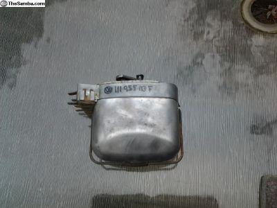 Working & Cleaned 67-68 VW Beetle Wiper Motor