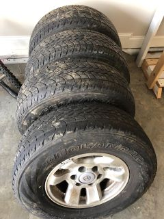 Barely used set of tires