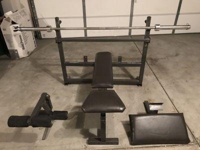 BodySmith Olympic Weight Set price reduced