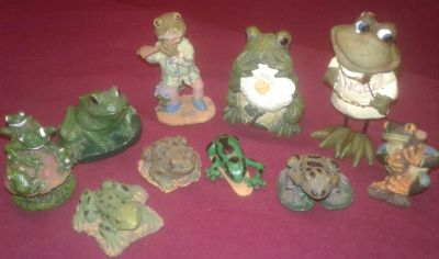 Frog Figurine Collectables
