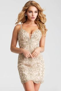 Nude Formal Evening & Prom Dresses