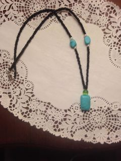 Faux turquoise necklace. Swap only