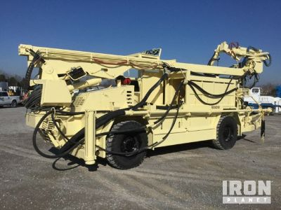 2011 Normet Spraymec 7110 WPC Concrete Sprayer