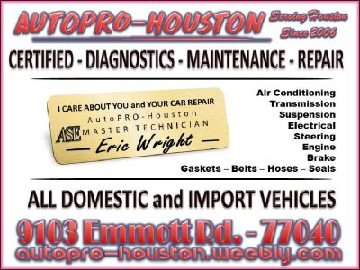 Mobile Mechanics Jersey Village TX and All Houston Since 2006