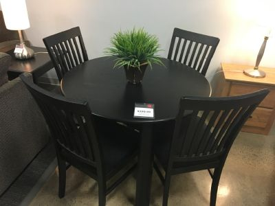 Eclipse Dining Table & 4 Chairs $399.99