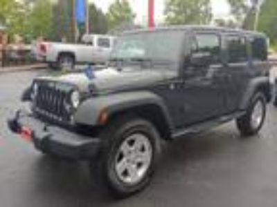 Used 2016 Jeep Wrangler Unlimited Sport 4WD in Wadsworth, OH