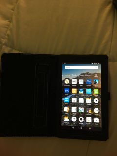 7 Amazon Fire Tablet with Case
