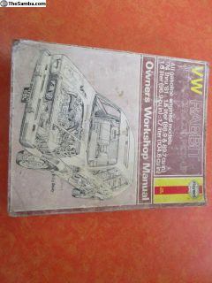 Haynes '74-'81 VW Rabbit repair manual - sweet