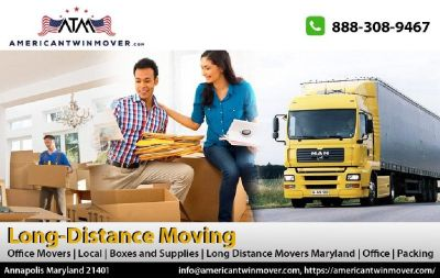 American Twin Movers - Local Moving Company Annapolis