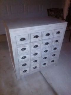 New / Oak Antique Brushed Almond Dresser