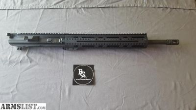 "For Sale: APF .308 18"" COMPLETE UPPER W/ 15"" FREEFLOAT RAIL, BCG & CH (APF77)"