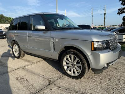 2012 Land Rover Range Rover Supercharged (Silver)