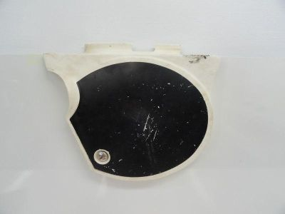 Purchase 77 Yamaha TT 500 used Right Rear Number Plate Plastic Side Cover motorcycle in Chippewa Lake, Ohio, US, for US $39.95