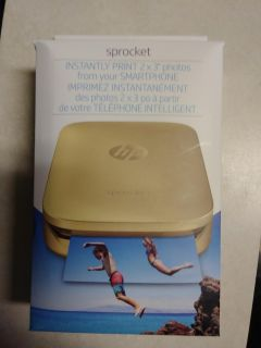 Sprocket HP instant photo printer from smartphone.