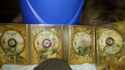 4 disc lord of rings