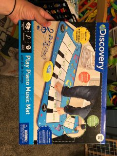 Play piano mat for kids