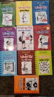 Diary of a wimpy kid 10 book collection