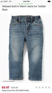 ISO 4T boys jeans or pants