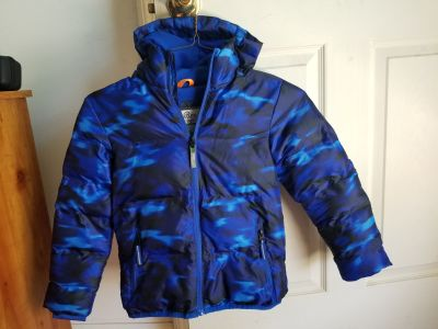 Kids Coat with Hood. Size 6/7
