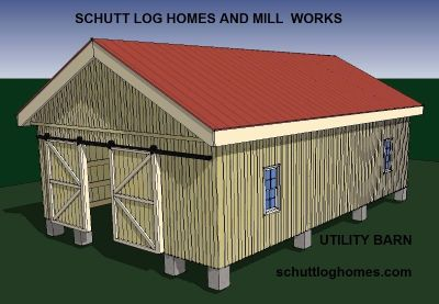 Oak Log Home kit