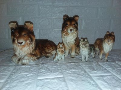 VINTAGE COLLIE COLLECTION