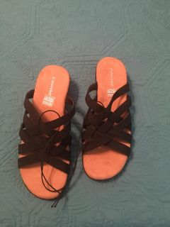Brand New St John's Bay Comfortable Sandals-New In Box with Tag