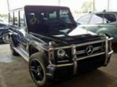 Salvage 2017 MERCEDES-BENZ G 63 AMG for Sale