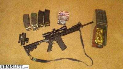 For Trade: AR15 with extras
