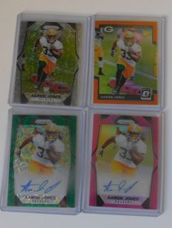 Aaron Jones UTEP/GreenBay Packers auto lot