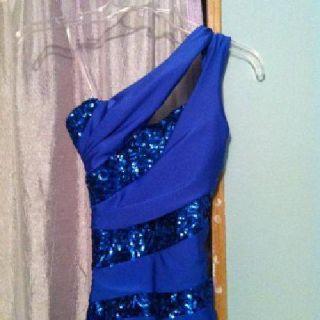 $150 Prom Dress- Blue