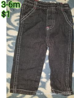 Baby boy 3-6 month jeans