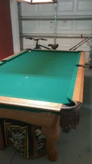Beautiful 8' Leisure Bay Pool Table-FREE DELIVERY and SET-UP INCLUDED!!!
