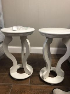 2 side tables (project pieces)