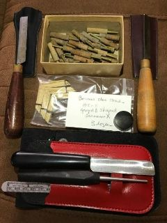 Oboe reed making tools