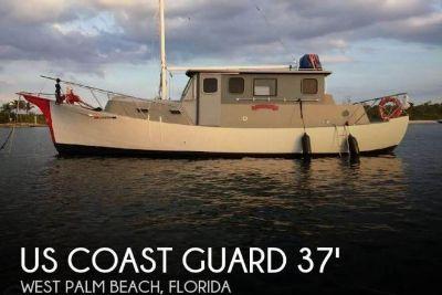 1934 US Coast Guard 37 Motor Life Boat