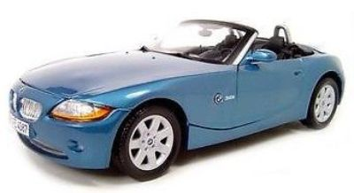 Sell BMW Z4 1:18 scale Blue collectible high quality diecast by Motormax New In Box motorcycle in New Kensington, Pennsylvania, United States, for US $39.95