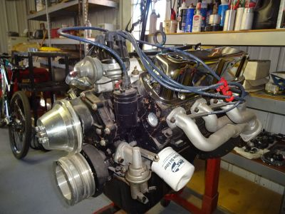 306 CID SBF Engine machine shop built