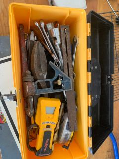 Miscellaneous tools and tool box