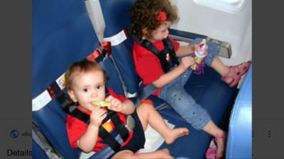 C.A.R.E.S. Airplane safety restraint