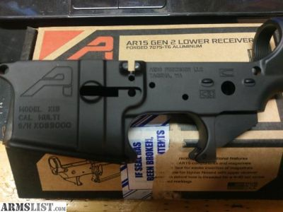 For Sale: Aero Precision Gen 2 AR15 Lower Receiver